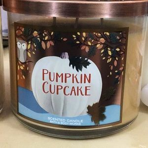 🎃 bbw Pumpkin cupcake candle